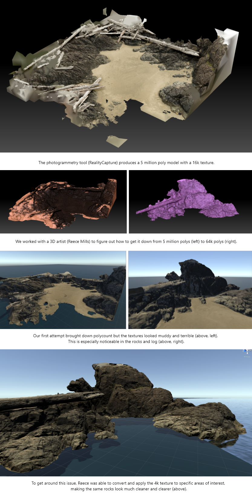 Photogrammetry and Decimation Process