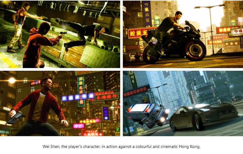 Wei Shen in Sleeping Dogs
